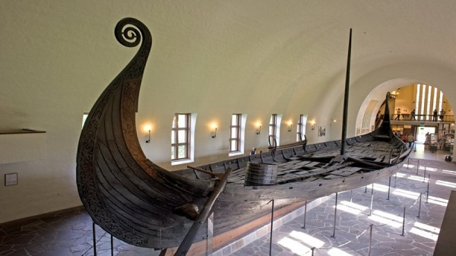 Viking Ships museum in Norway