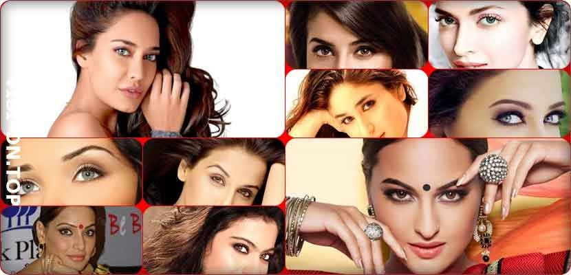 Female stars of Bollywood's most beautiful eyes