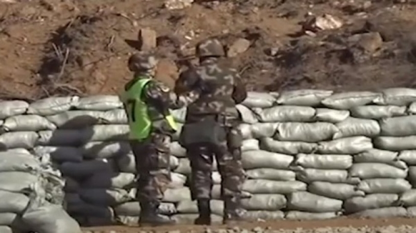 Video, a training session for the Chinese police force almost turned into a disaster