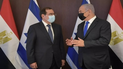 The first visit of an Egyptian minister to Israel in five years
