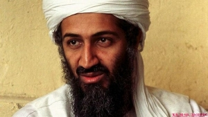Bin Laden was next to his wife