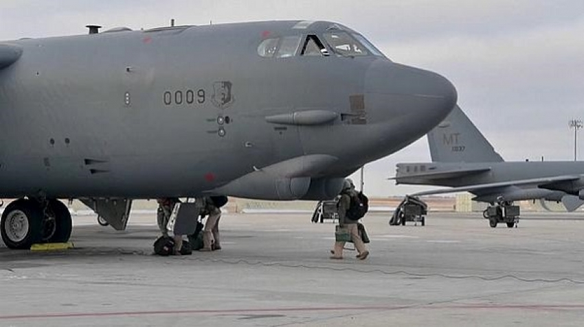 The US Army has deployed B-52H nuclear warheads