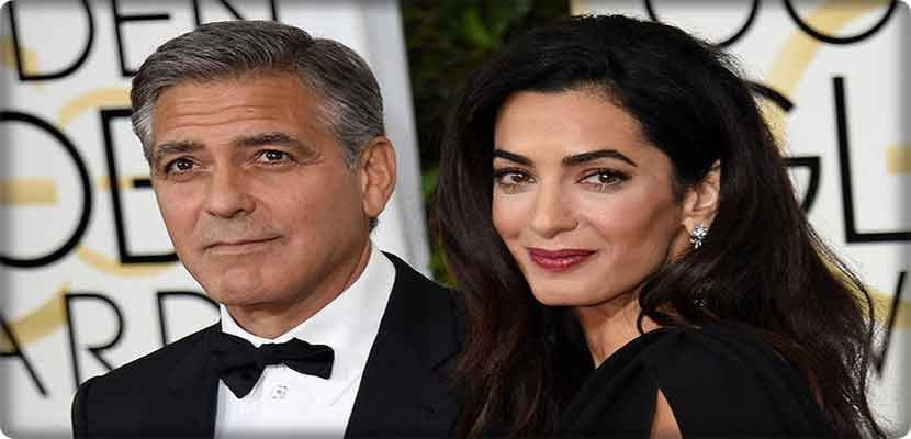 The world star is married to British-born Lebanese lawyer Amal al-Din, who is pregnant with twins. The family is due to live in London.