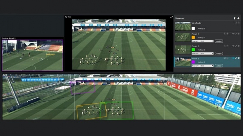 Artificial intelligence in football stadiums settles controversy over referees' decisions and helps coaches improve players 'performance to achieve maximum benefit from performance