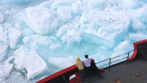 Arctic temperatures hit a record high