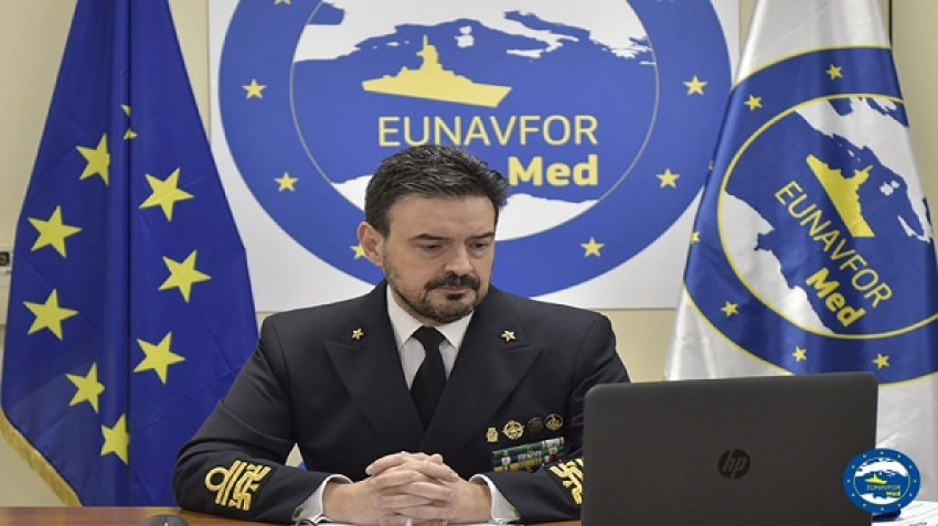 OP EUNAVFOR MED IRINI: SHared Awareness and DE-confliction conference for the MEDiterranean Sea (SHADE MED)