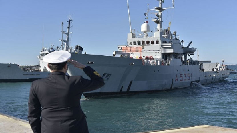 Greece takes over the Force Command of Operation EUNAVFORM MED IRINI