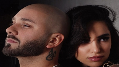 Massari pulls out a wedding ring and proposes on set