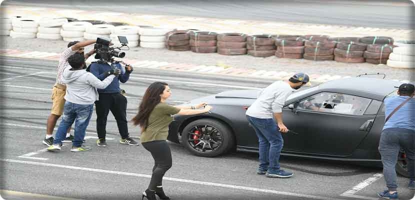 The action comedy was shot in several locations in Abu Dhabi, Dubai, Ras Al Khaimah and Umm Al Quwain and is the latest Arabic production to work with twofour54.