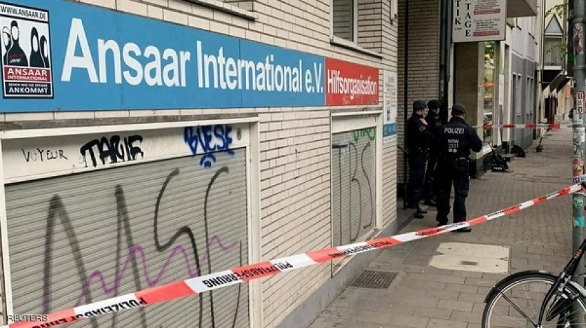 Ansar International was banned in Germany for its support of terrorism around the world