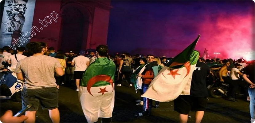Celebrations of the Algerian community in France with the African Cup turn into a nightmare