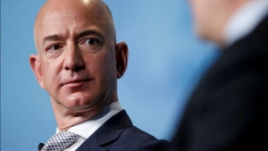 Jeff Bezos steps down as president, leaving a message