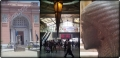 Video, footage of the landmarks of Cairo: Ramses station, the subway, and the Egyptian Museum