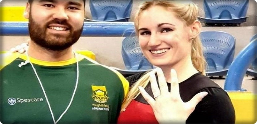 CAIRO: Weightlifting coach Mona Perteros has finished the tournament by asking to marry