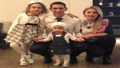 A gang robbed the house of the Argentine player, Angel Di Maria and kidnapped his wife and children