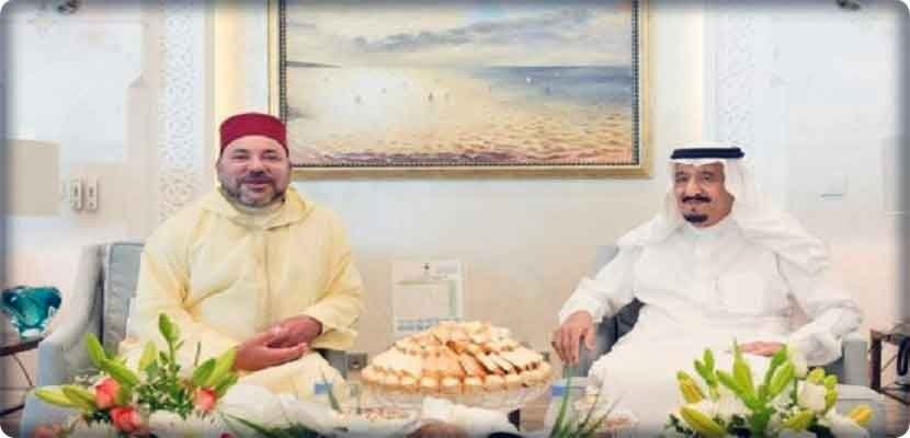 King Salman bin Abdul Aziz, who used to spend his summer vacation in the Moroccan city of Tangier, is not far from Morocco.