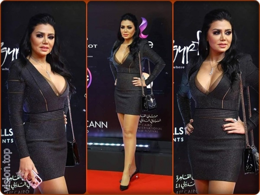 Rania Youssef in a controversial dress again - vision.top