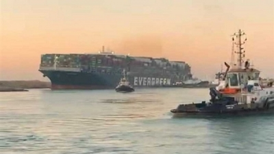 "Disruptions to Global Shipping Activity After the Floating ""Evergiven"""