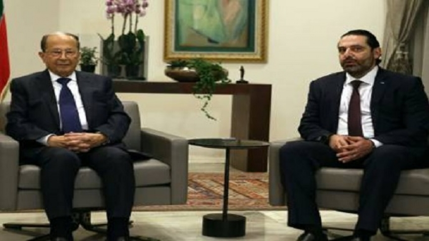Saad Hariri and Michel Aoun and the Bible rules between them