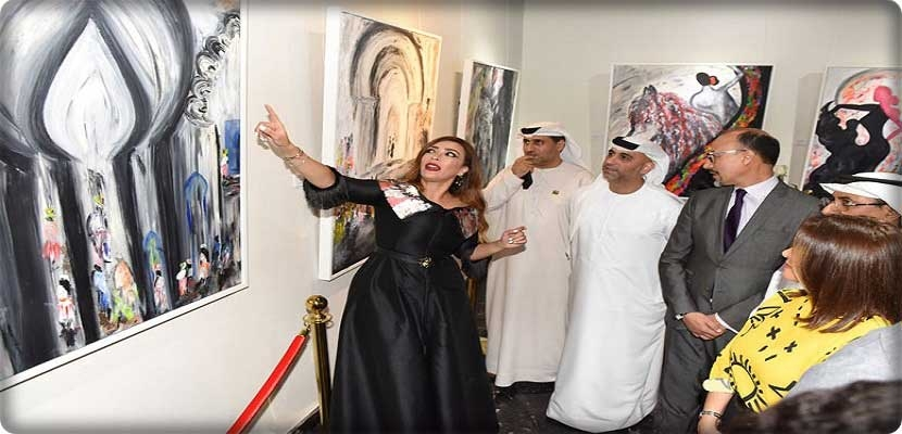 The Moroccan abstract artist Lamia Manhal opens Al Andalus in the UAE