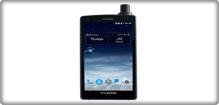 Thuraya introduces the first X5-Touch Android phone that connects via satellite