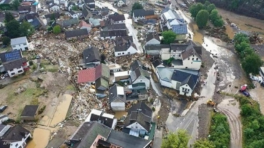 Massive floods hit Germany, Belgium and the Netherlands